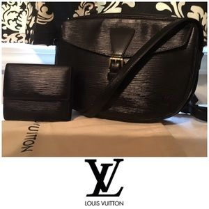 Louis Vuitton Jeune Epi Leather Crossbody & Wallet